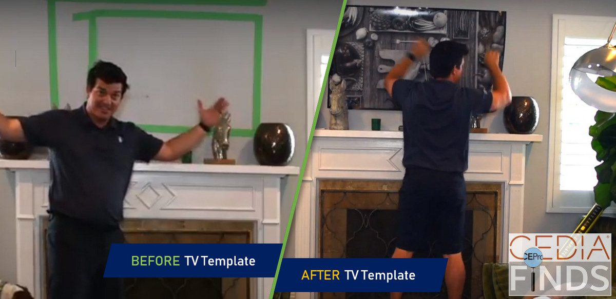 CEDIA 2018 Find: TV Template Wins the Show for Best Instructional Video