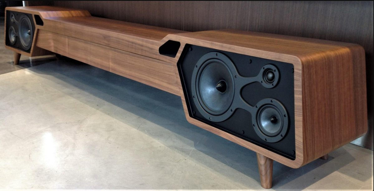 For Mid-Century Modern Fans, the Most Beautiful Furniture with Built-in Speakers