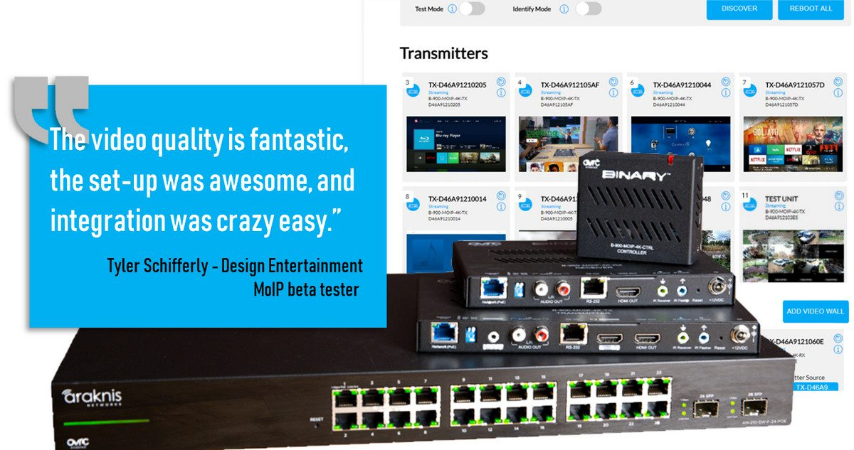 New SnapAV MoIP is 'Perfect Video over IP System' – Beta Tester