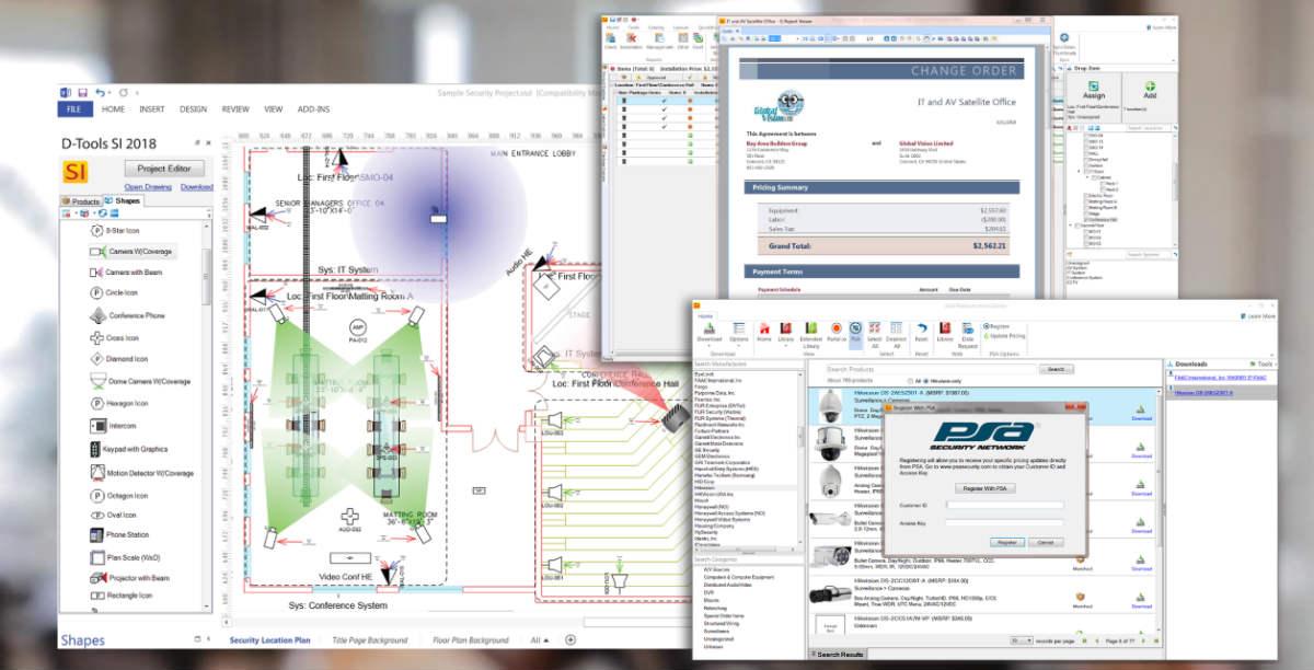 D-Tools System Integrator 2018 Live Demo at CEDIA Expo 2018