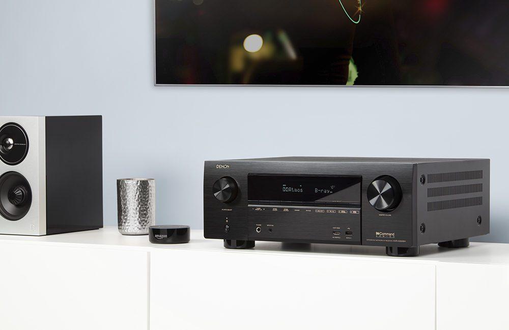 $999 Denon Receiver Boasts Dolby Atmos, Alexa, and Apple AirPlay 2