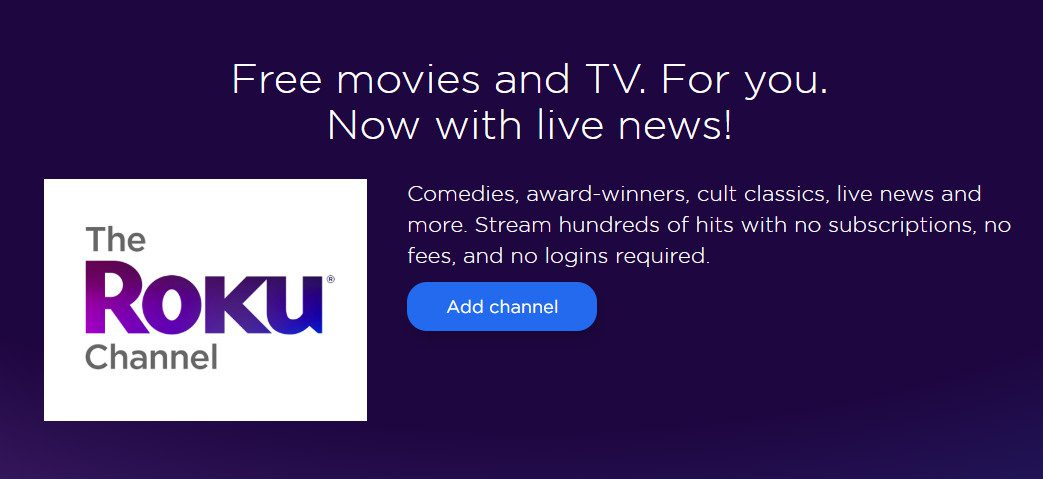 Roku Launches 'The Roku Channel' Offering Free Streaming For All