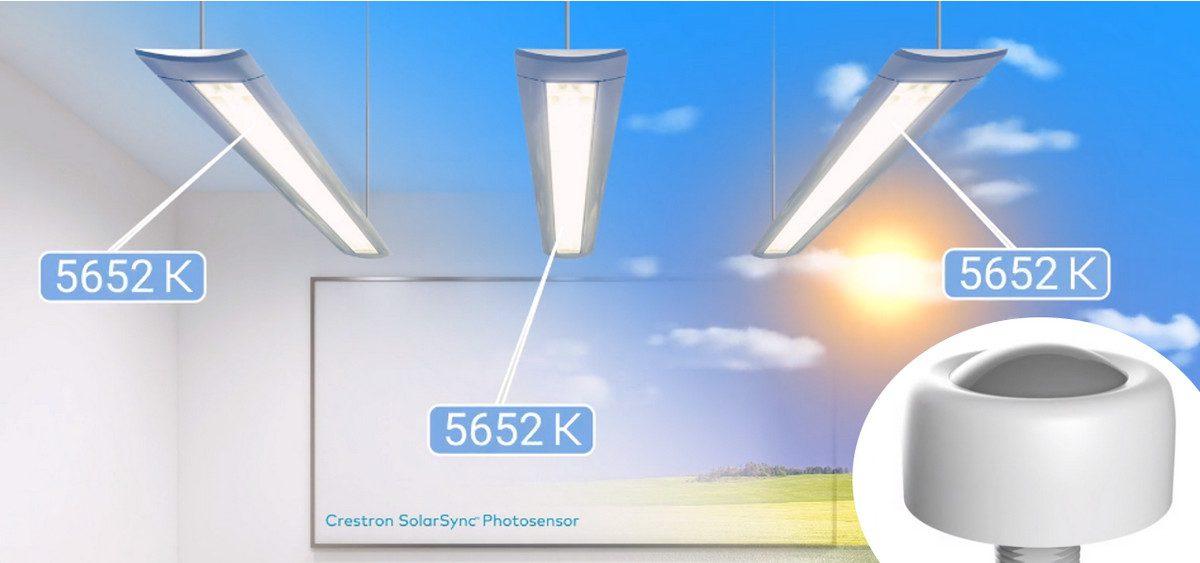 Demo: Crestron's New SolarSync Daylight Sensor Automates Lighting to Simulate the Outdoors