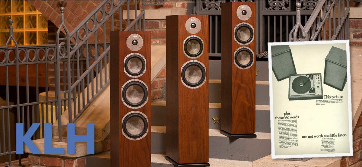 Henry Kloss's Iconic KLH Loudspeaker Brand Returns Re-Energized