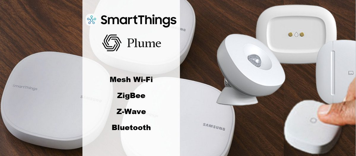 New Samsung SmartThings Wifi Melds Home Automation Hub with Plume Mesh Wi-Fi