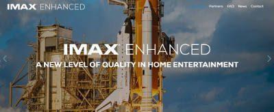 IMAX, DTS Team Up on 'IMAX Enhanced' Certification & Licensing Program