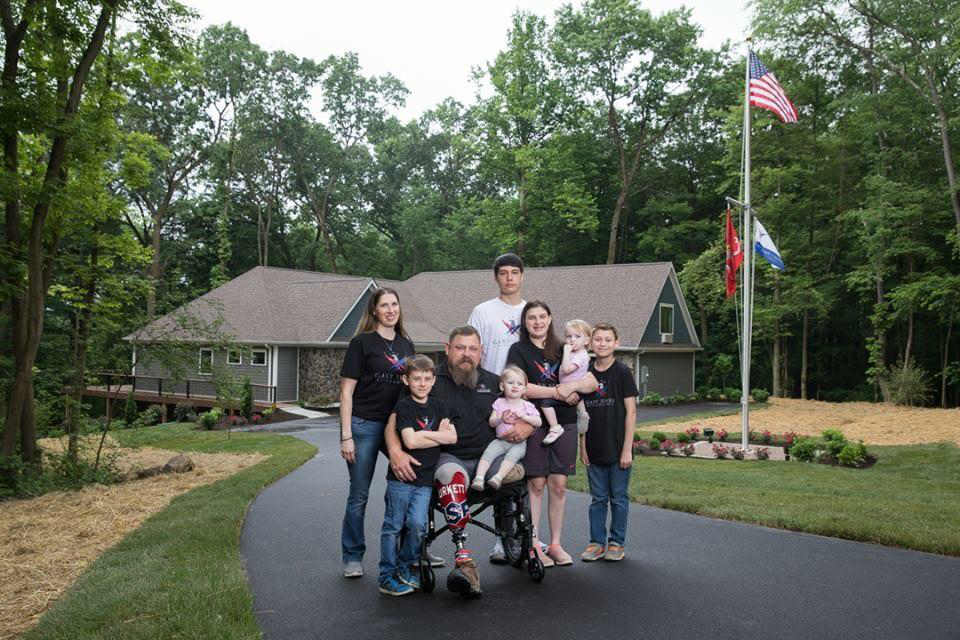 Marine Corps Major and Paralympic Gold Medalist Receives Customized ELAN Controlled Smart Home