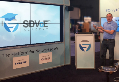 SDVoE Academy Launches Free Online Learning Platform