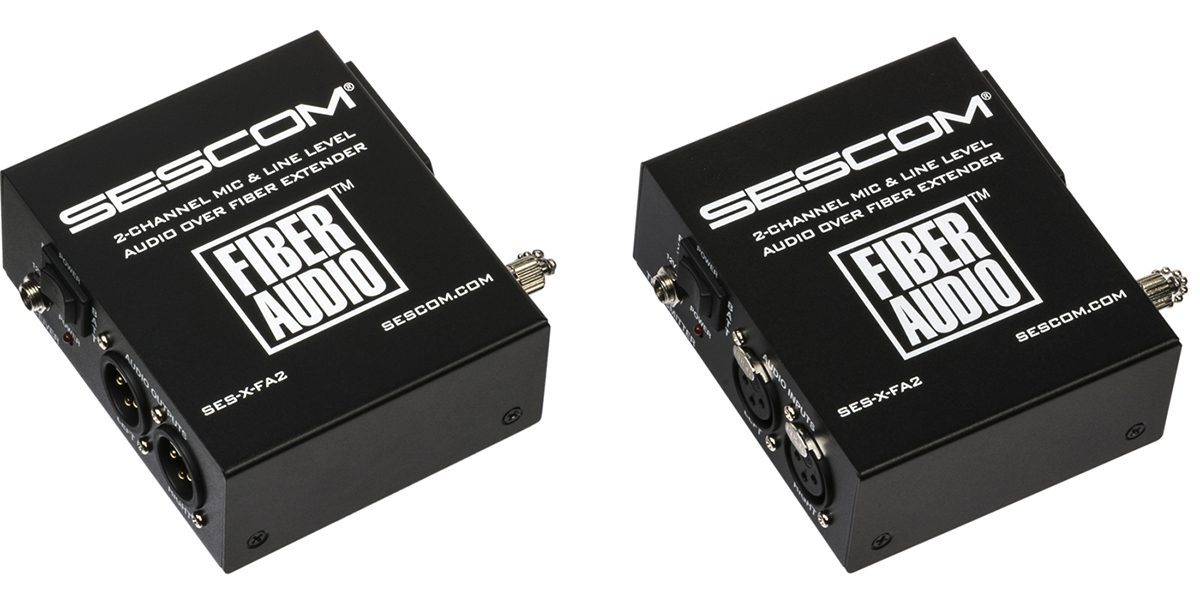 Sescom Introduces 2nd Generation Fiber Audio Converter