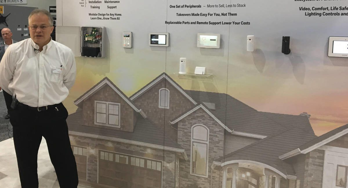 Honeywell Total Connect Video Cameras Install Using QR Code