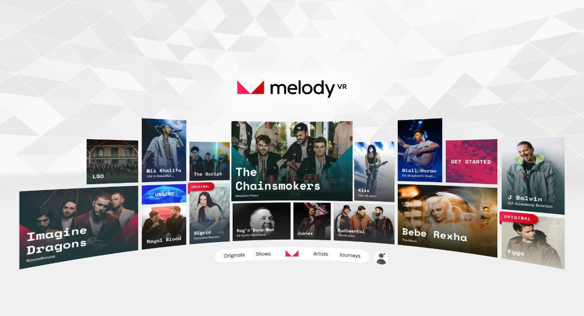 MelodyVR Brings the Concert to Your Couch