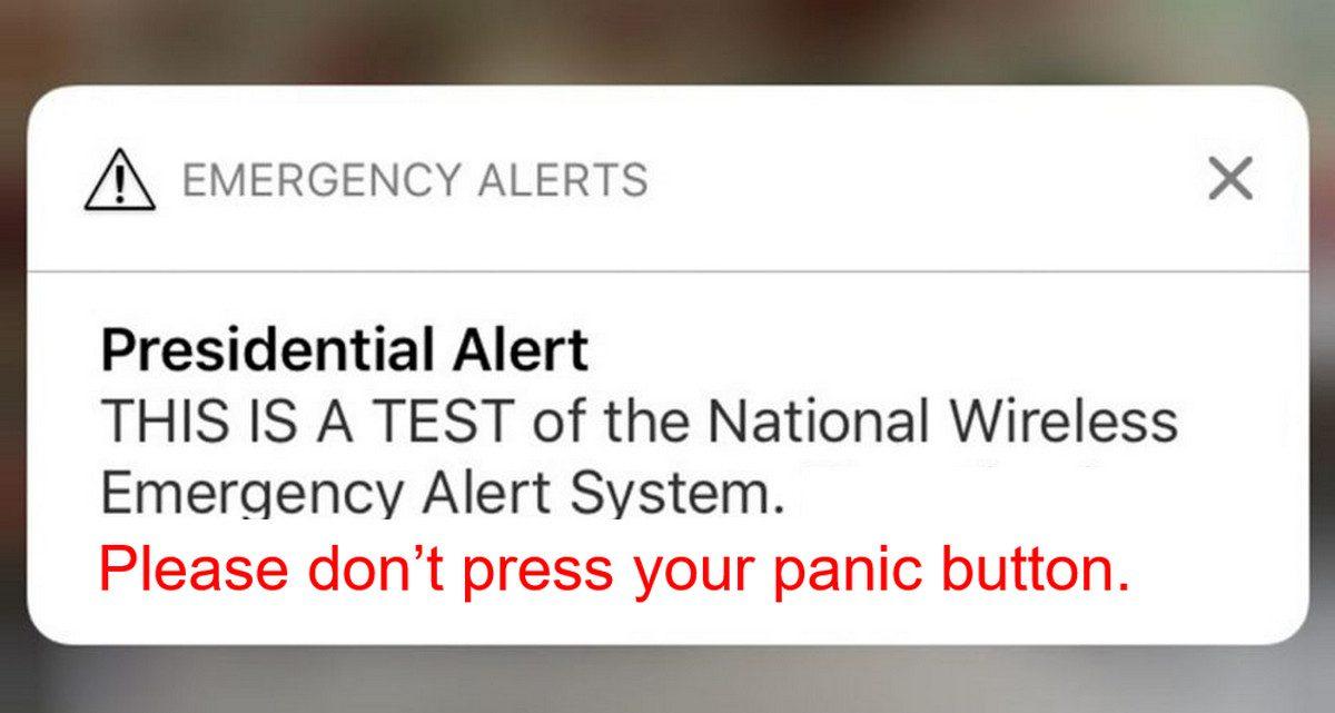 Presidential Alert Causes False-Alarm Headaches