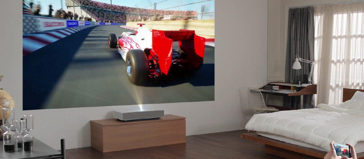 LG's Gen-2 CineBeam 4K Ultra Short Throw Projector Adds 'AI' Voice Control