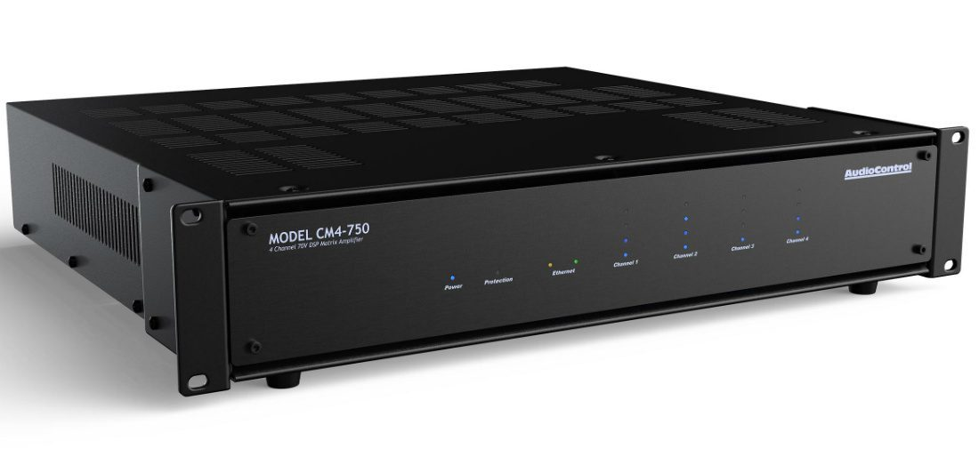 AudioControl to Showcase CM Line of 70 and 100-Volt Amps at ISE 2019