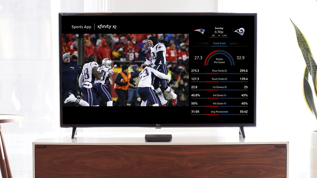 Comcast Makes Big Game Experience Easier to Access Via Voice Controls