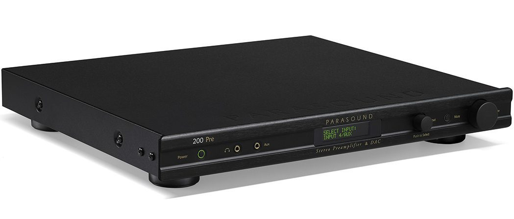 $895 Parasound Preamp Combines Traditional Audio Functions With Digital Technologies