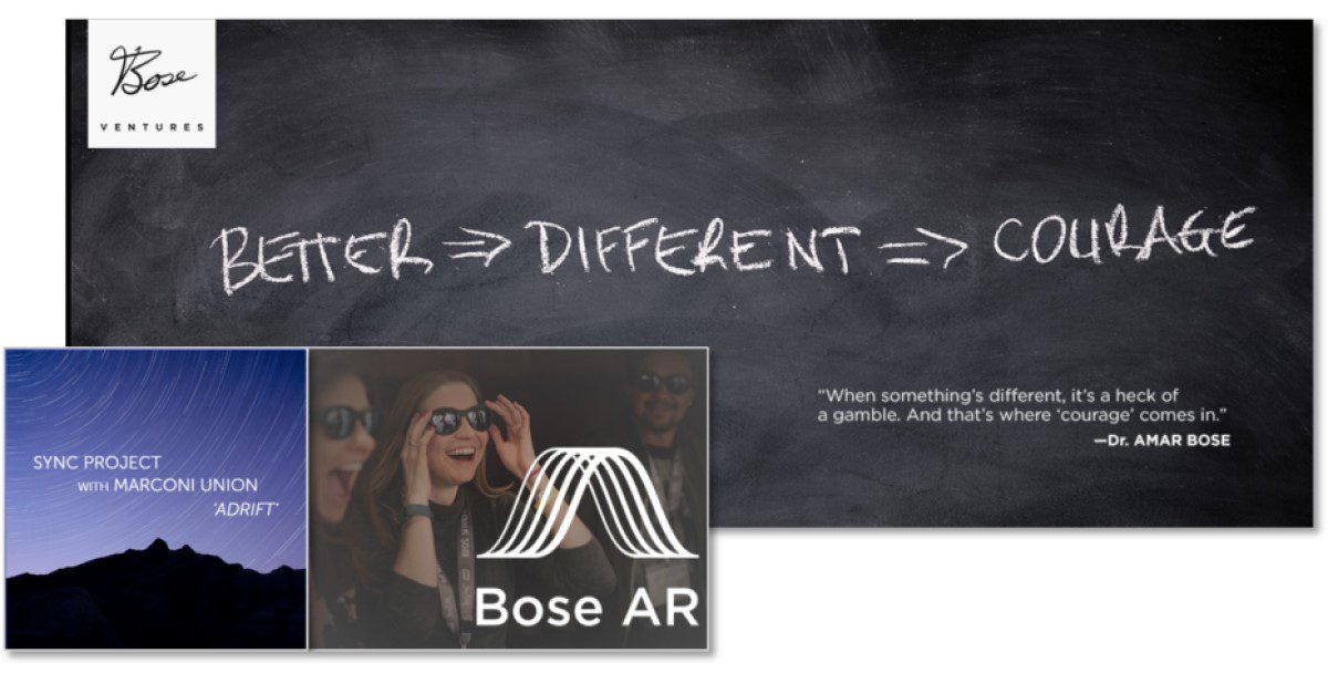 Bose Ventures Made Some Really Interesting Moves in 2018: AR & Wellness