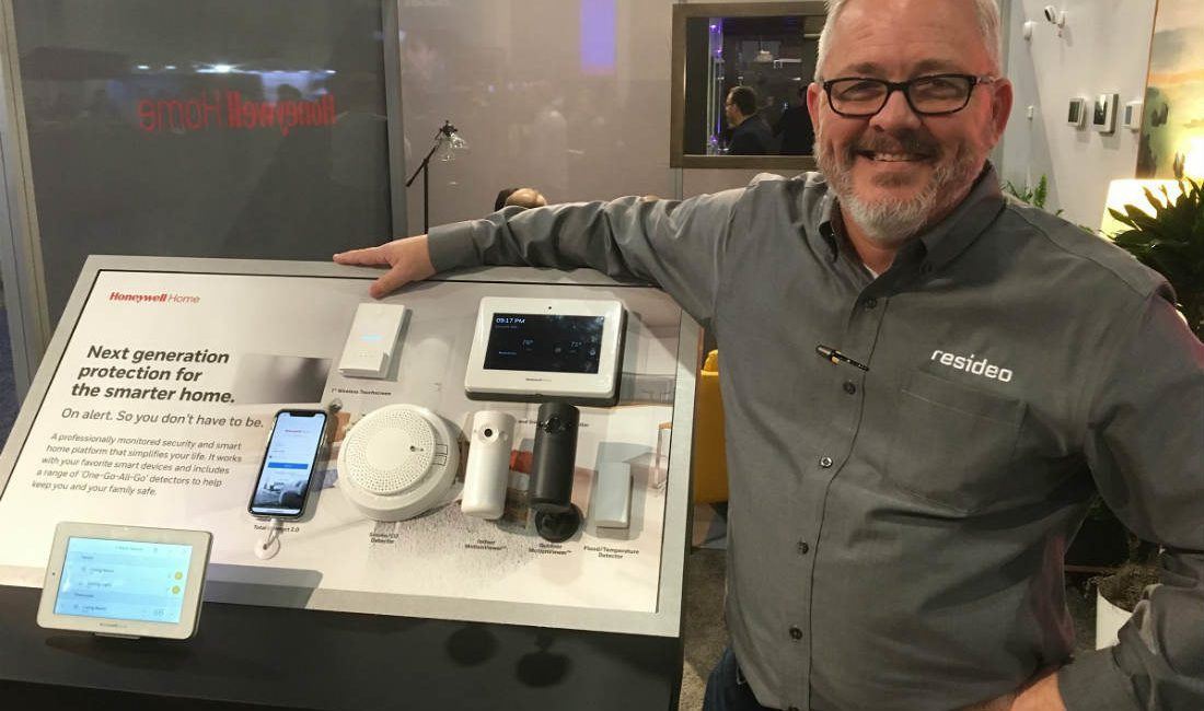 Resideo Offers Sneak Peek of New Honeywell Home Ecosystem at CES 2019