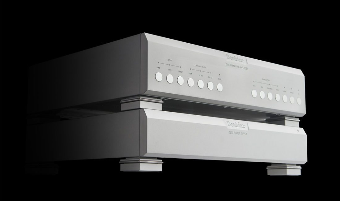 Boulder Phono Preamplifier Features Selectable EQ Curves