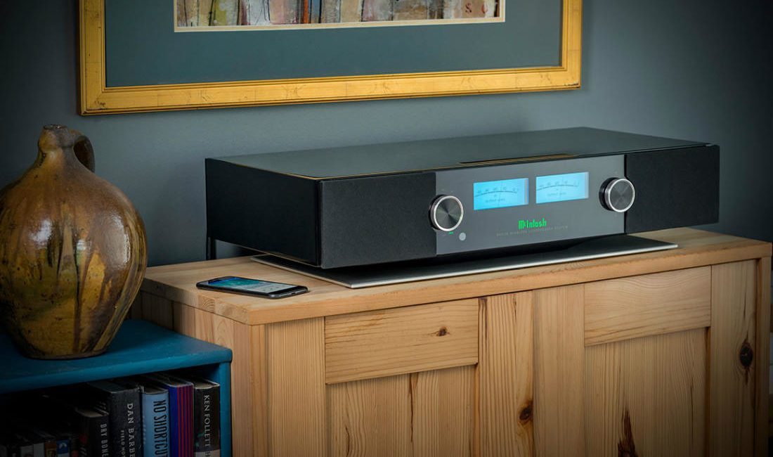 McIntosh Wireless Speaker System Incorporates Apple AirPlay 2, Spotify Streaming