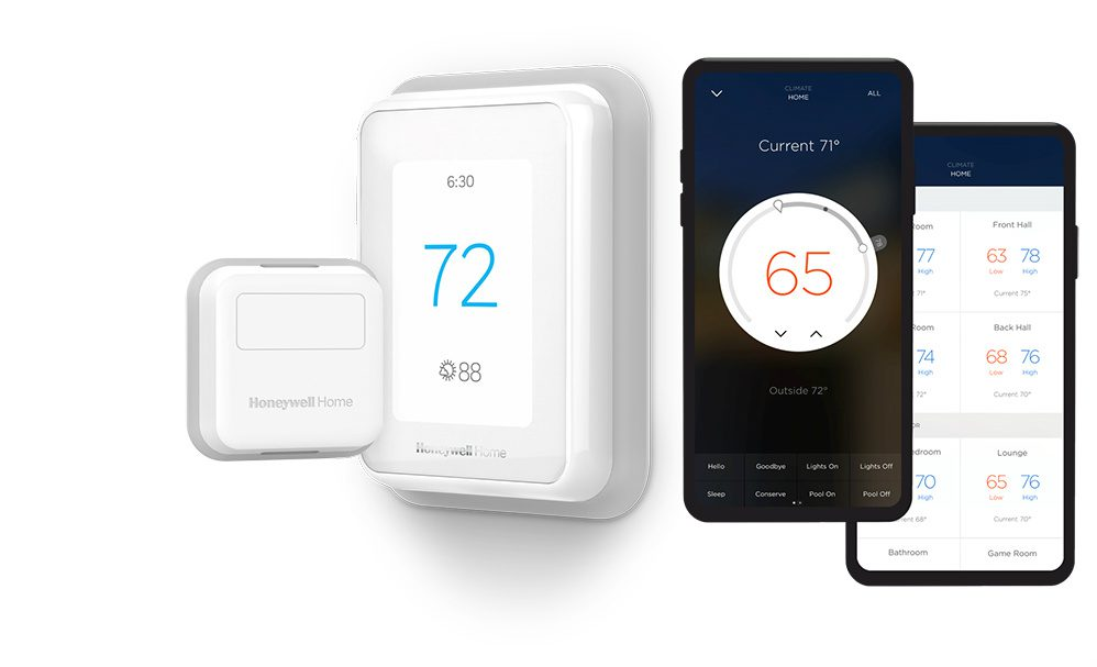 Savant Now Compatible With Resideo Honeywell Home T Series Smart Thermostats