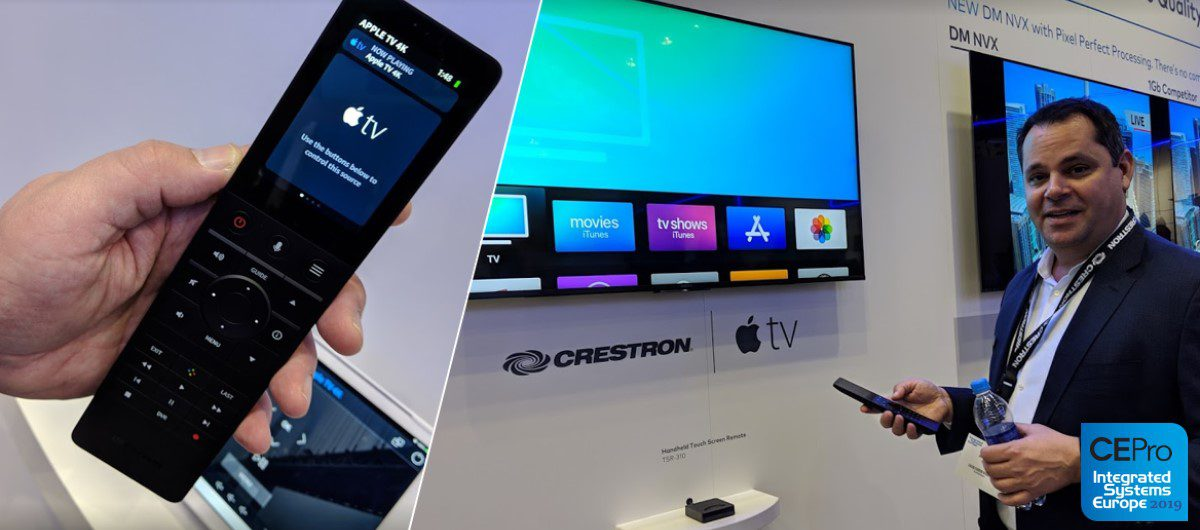Crestron's For-Real Two-Way IP Control of Apple TV: TSR-310 as Siri Remote