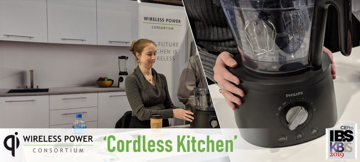 'Cordless Kitchen' Gets Real this Year with 2.2kw Qi for Appliances