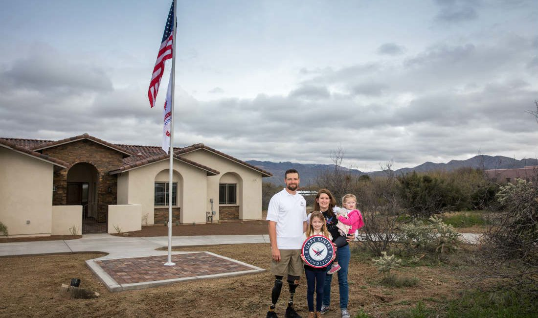Injured U.S. Army Sergeant Caleb Brewer Honored With Specially Adapted Smart Home