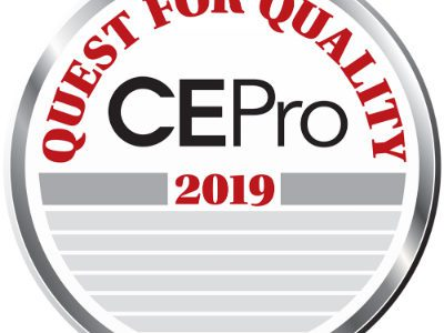 CE Pro's 2019 Quest for Quality Awards: Best Suppliers in the Home-Tech Channel