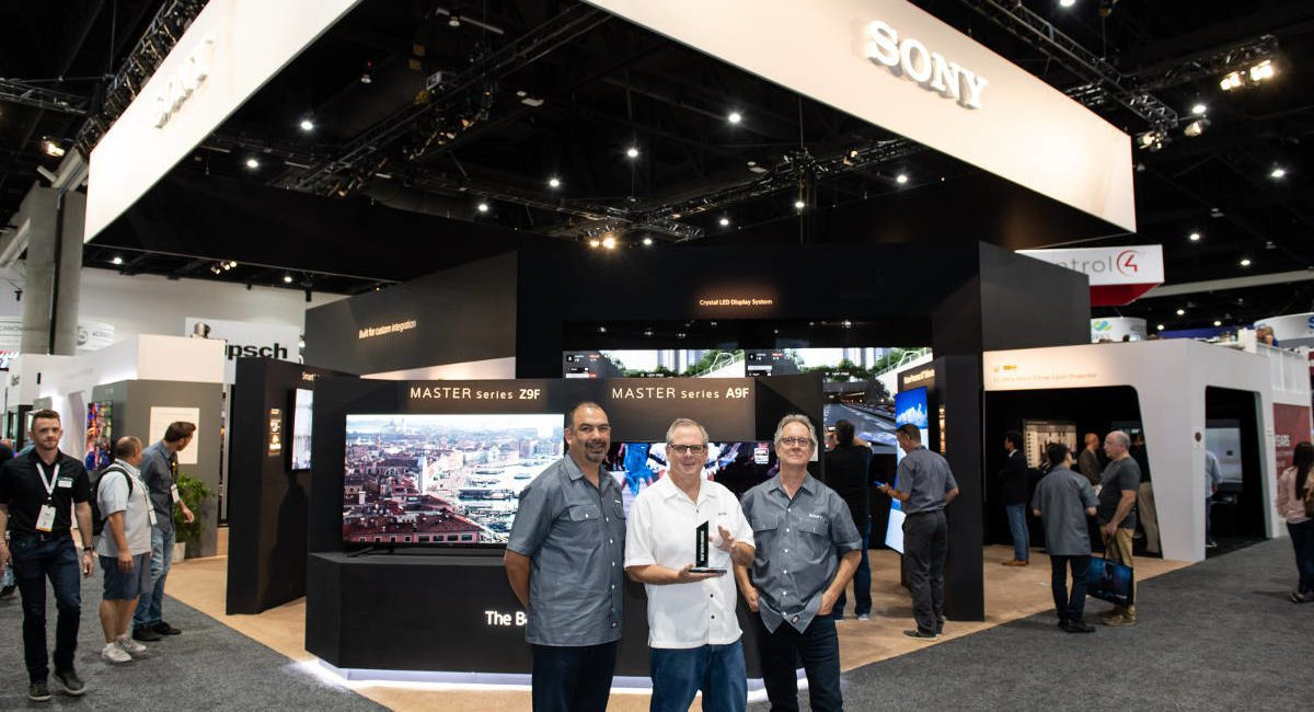 Sony's Dazzling Booth at CEDIA Helps Earn Quest for Quality Award