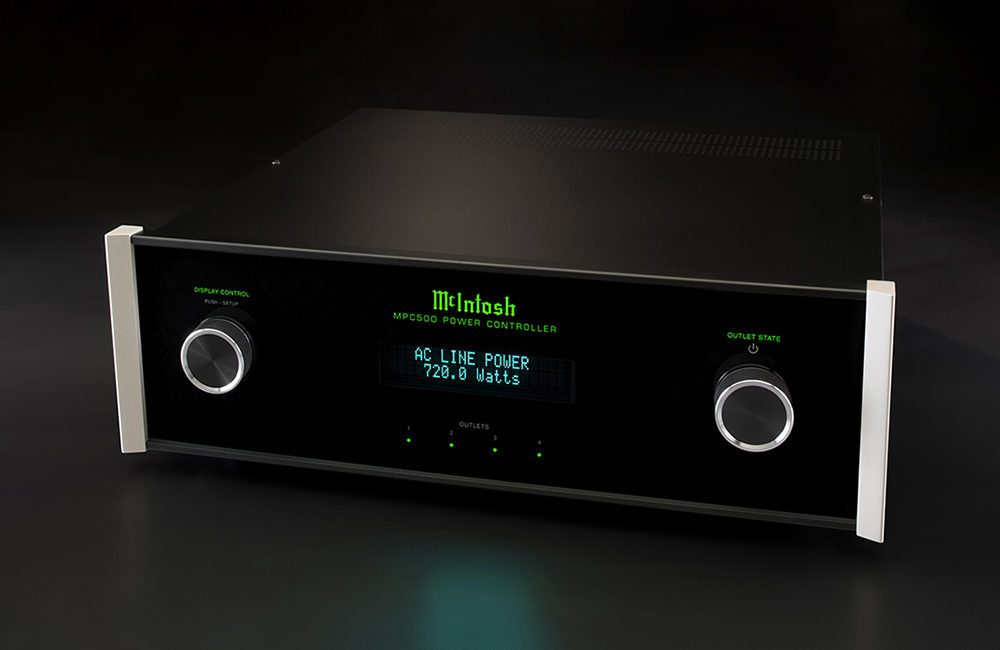 McIntosh Power Controller Uses Thermally Protected Metal-Oxide Varistors to Keep Electronics Safe