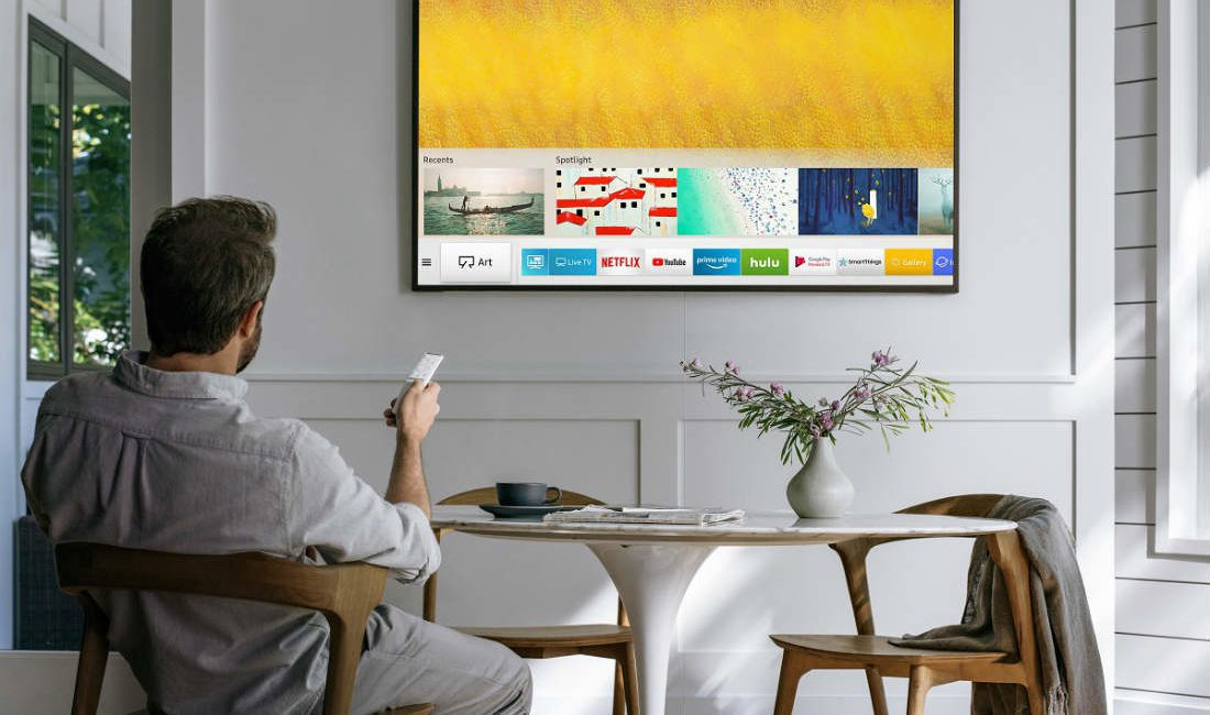 Samsung Brings QLED Technology to 'The Frame' Bezeled TV