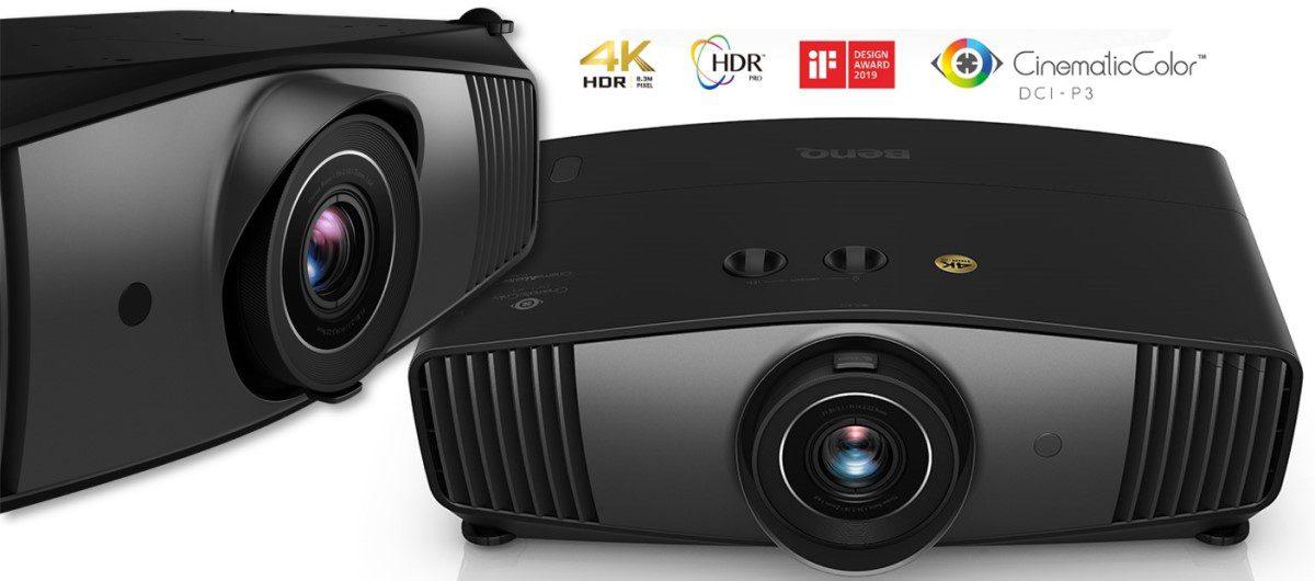 $2,499 4K BenQ CinePrime HT5550 Fully Reproduces DCI-P3 Color Space