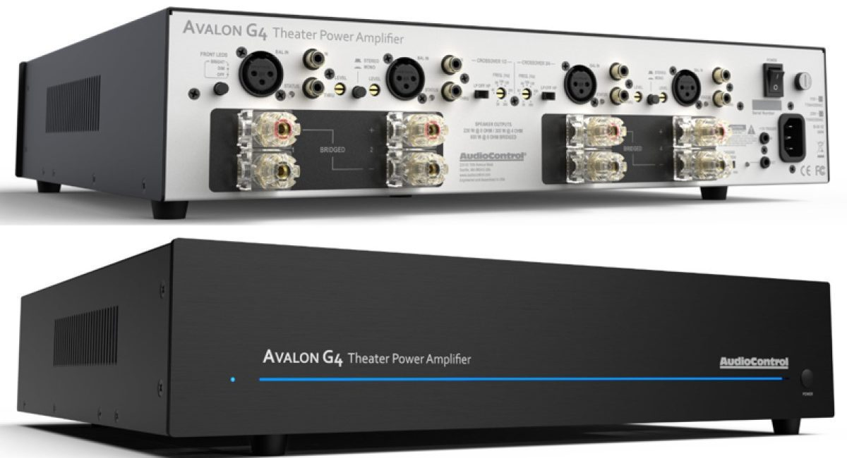AudioControl's New Avalon G4 Amplifier Configurable up to 4 Audio Channels