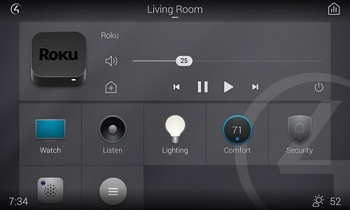Hands On: Control4 Smart Home OS 3 Kills 'Circle of Power' GUI