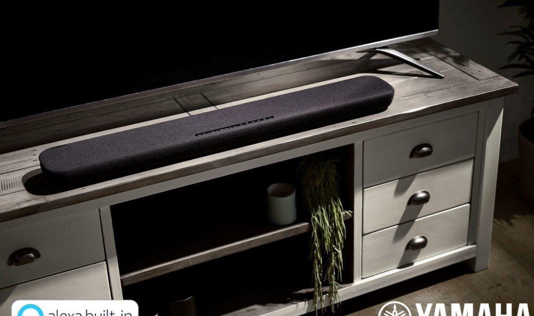 Yamaha Adds to Soundbar Lineup With Two Alexa-Controlled Units