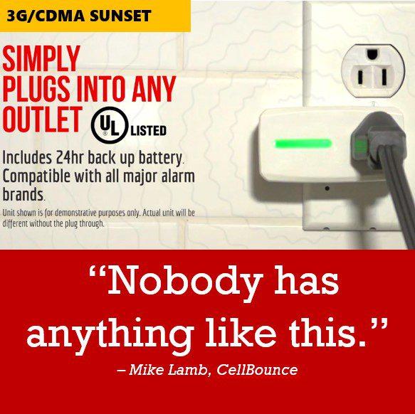 CellBounce Solves Massive 3G/CDMA Sunset Problem for Alarm