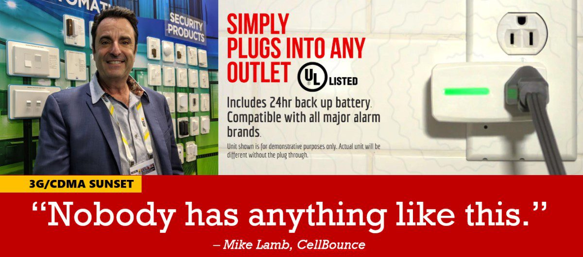 CellBounce Solves Massive 3G/CDMA Sunset Problem for Alarm Industry