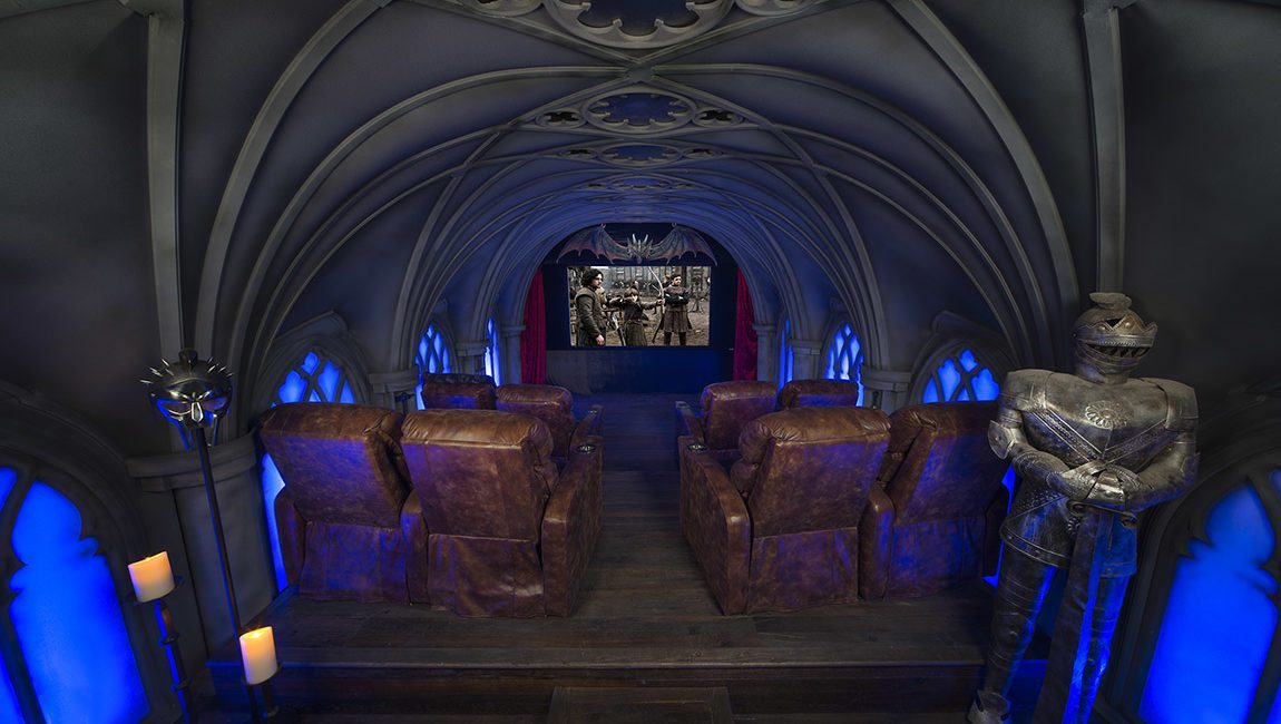 Building a Themed Home Theater: How Pros Replicated 'Game of Thrones' for Super Fan, slide 1