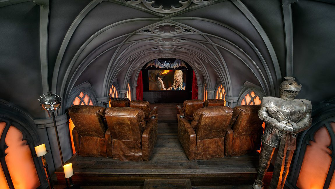 Building a Themed Home Theater: How Pros Replicated 'Game of Thrones' for Super Fan
