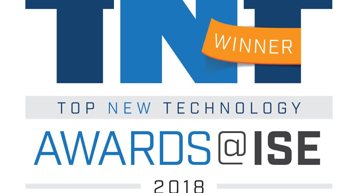 2018 Top New Technology (TNT) Awards @ ISE Winners Announced