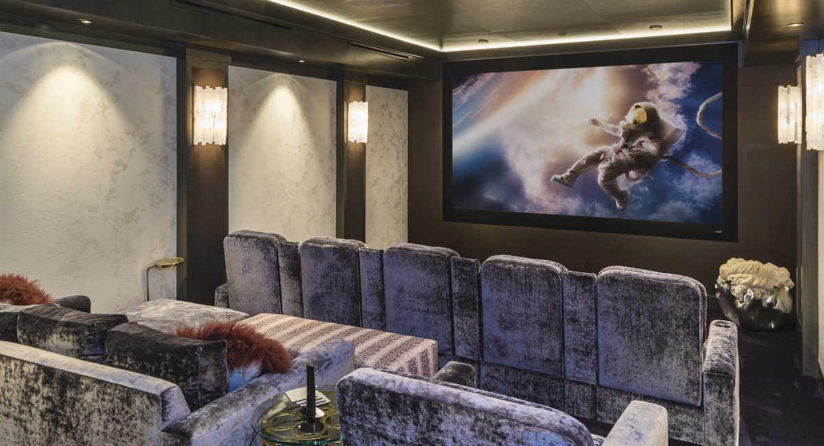 Savant and Dolby Atmos Turn Flooded Basement into Stunning Home Theater, slide 0