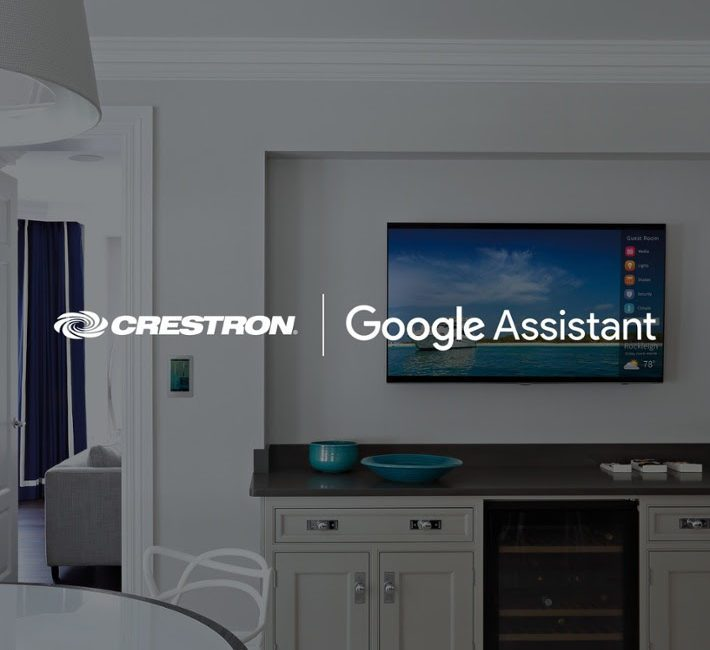 Crestron Dealers Get Google Assistant for Lighting; Full Smart-Home Voice Controls Up Next