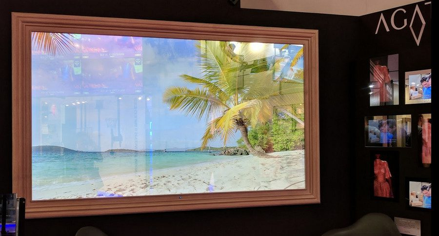 98-Inch Mirror TV … and Other Eye-Popping Technologies at ISE 2018, slide 0