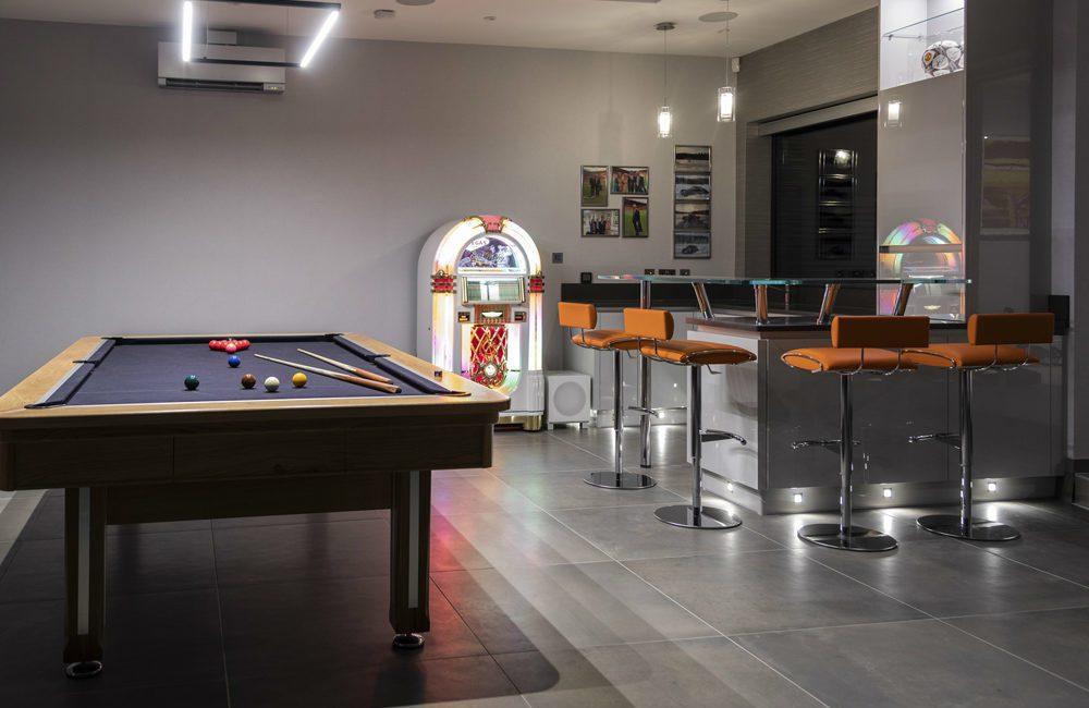 Elan Controlled, Alexa Voice-Activated Game Room Helps Homeowner Enjoy Retirement, slide 0
