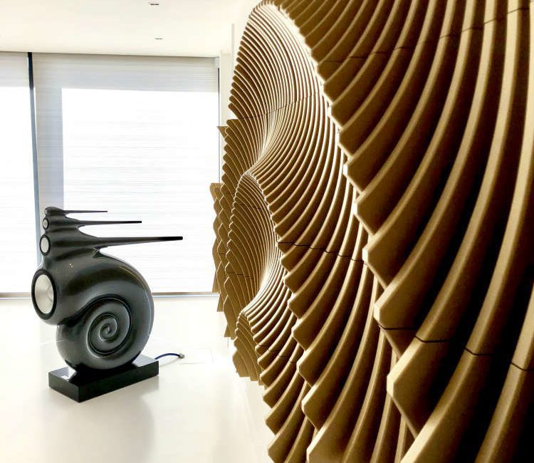 Art Meets Science in $6 Million Minimalist UK Mansion, slide 2