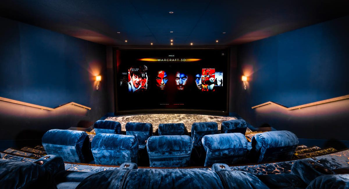 Look Inside Europe's First Private IMAX Home Theater, slide 0