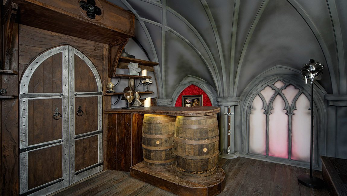 Building a Themed Home Theater: How Pros Replicated 'Game of Thrones' for Super Fan, slide 2