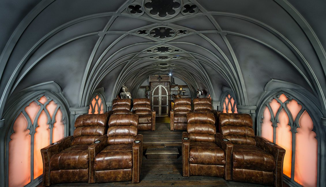 Building a Themed Home Theater: How Pros Replicated 'Game of Thrones' for Super Fan, slide 3