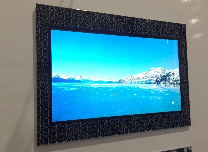 6 Amazing TV Installs: Gorgeous Finishes, Fancy Frames, Disappearing Screens #SoCustom, slide 1